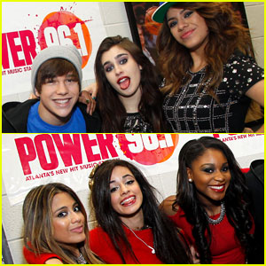 Austin Mahone: Atlanta Jingle Ball with Fifth Harmony!