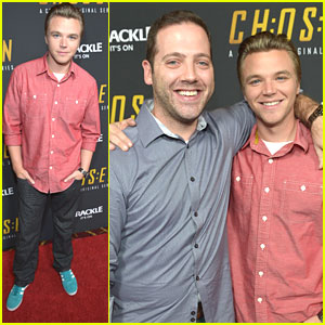 Brett Davern: 'Chosen' Series Premiere Party