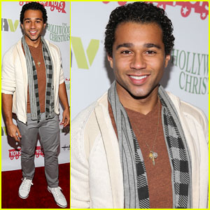 Corbin Bleu: Hollywood Christmas Parade 2013 with Karina Smirnoff