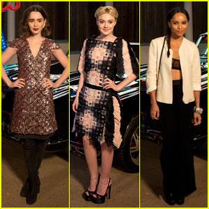 Dakota Fanning & Lily Collins: Chanel's Metiers d'Art Show!