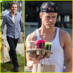 Derek Hough: Casual Christmas Shopper