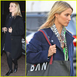 Dianna Agron: Christmas Shopping & Concert!