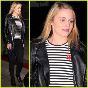 Dianna Agron: Girl's Night Out in WeHo