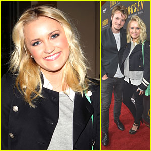 Emily Osment: 'Chosen' Premiere with Nathan Keyes