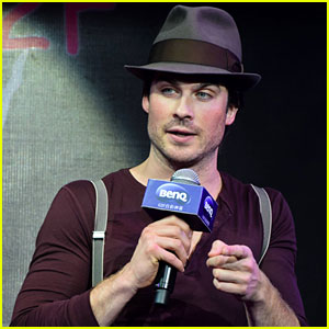 Ian Somerhalder: Happy New Year from China!