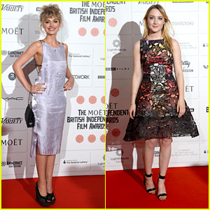 Imogen Poots & Saoirse Ronan: Moet British Independent Film Awards 2013