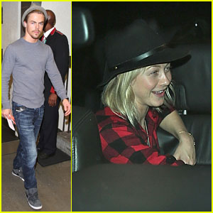 Derek & Julianne Hough: LAX Arrival Buddies!