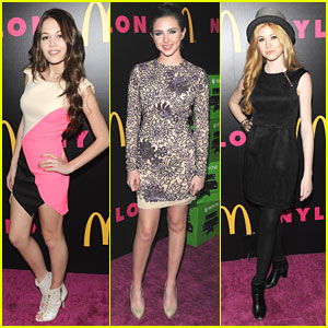 Kelli Berglund & Ryan Newman: Nylon December Cover Issue Party