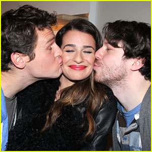 Lea Michele: 'Spring Awakening' Reunion on Broadway!