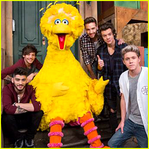 One Direction on 'Sesame Street' - See the First Pic!
