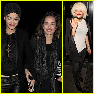 Rita Ora: Late Night London Outings