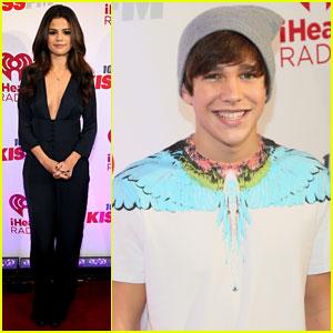 Selena Gomez & Austin Mahone: KISS FM's Jingle Ball Dallas 2013