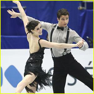 Tessa Virtue & Scott Moir: Silver at Grand Prix Final 2013