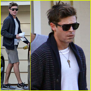 Zac Efron: First Pics Since Jaw Injury
