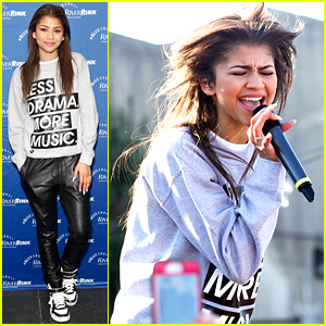 Zendaya: RiverRink Opening Performer