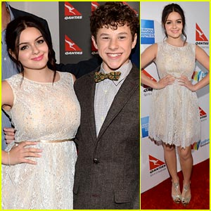 Ariel Winter & Nolan Gould Join 'Modern Family' Cast for Qantas Party!