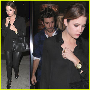 Ashley Benson & Ryan Good: Craig's Dinner Duo!