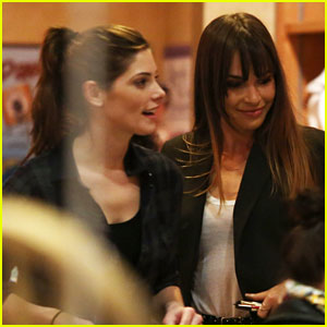 Ashley Greene & Blanda Eggenschwiler: Friday Night Ceramics!