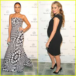 Ashley Madekwe & Teresa Palmer: Art of Elysium's 7th Annual HEAVEN Gala