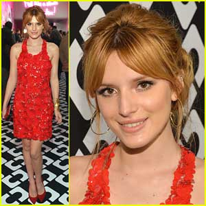 Bella Thorne: Diane Von Frustenberg's 'Journey of A Dress' Exhibition Event