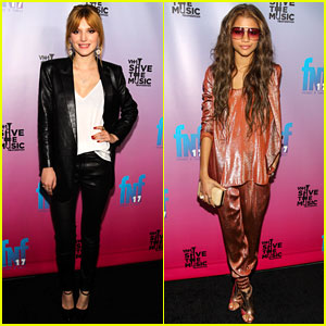 Bella Thorne & Zendaya: Friends 'N Family Pre-Grammy Party