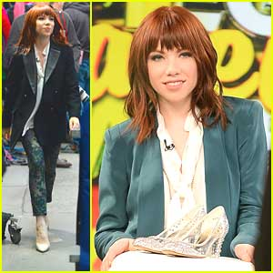 Carly Rae Jepsen: 'Cinderella' Promo on 'GMA'
