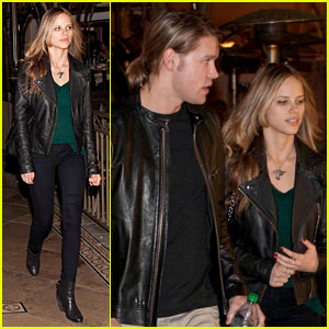 Chord Overstreet & Halston Sage: Dinner & Movie Date!