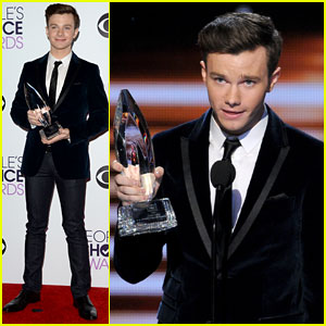 Chris Colfer Wins Favorite Comedic TV Actor at People's Choice Awards 2014!