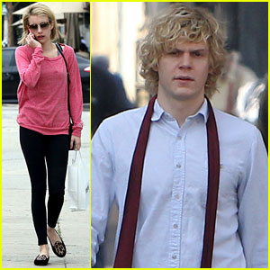 Emma Roberts: Evan Peters Thought I Was So Weird Before We Dated