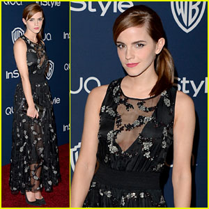 Emma Watson: InStyle Golden Globe Awards Post-Party