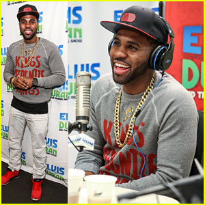 Jason Derulo Stops by Z100 New York
