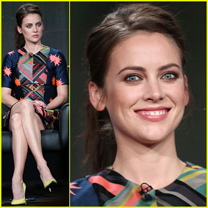 Jessica Stroup: 'The Following' TCA Panel