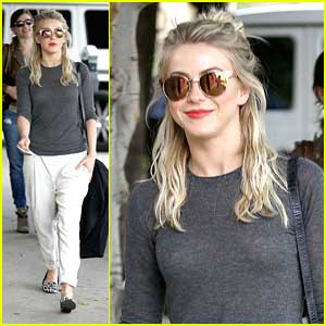 Julianne Hough: Gray Sweater Girl