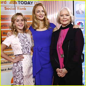 Kiernan Shipka: 'Flowers' Promo on Today Show