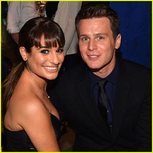 Lea Michele: 'Looking' Premiere Party with BFF Jonathan Groff!