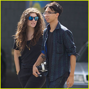 Lorde & Boyfriend James Lowe Step Out Together in New Zealand