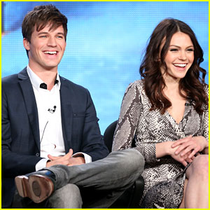 Matt Lanter & Aimee Teegarden: 'Star-Crossed' TCA 2014 Panel
