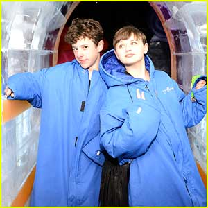 Nolan Gould & Joey King 'Chill' on the Queen Mary