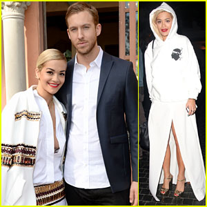 Rita Ora & Calvin Harris: Pre-Grammys Brunch