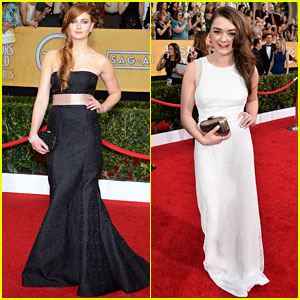 Sophie Turner & Maisie Williams - SAG Awards 2014