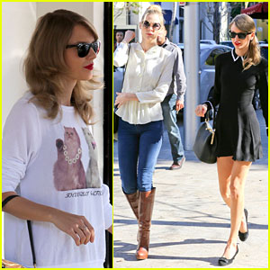 Taylor Swift & Jaime King: Bouchon Lunch Babes!