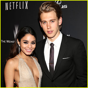 Vanessa Hudgens & Austin Butler: Weinstein Company Golden Globes 2014 After-Party