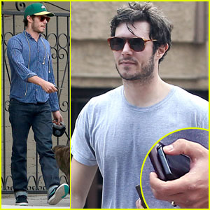 Adam Brody Sports Ring After Reported Wedding to Leighton Meester