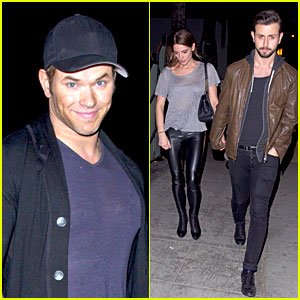 Ashley Greene: Birthday Party with Kellan Lutz!
