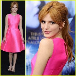 Bella Thorne: Pretty in Pink at 'Winter's Tale' Premiere in NYC