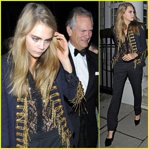 Cara Delevingne: I Want Tickets to Prince!