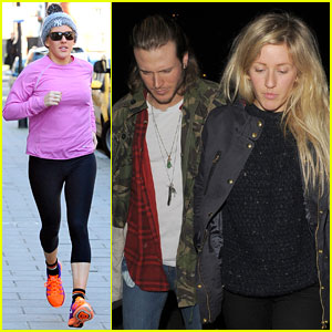 Ellie Goulding Hangs with Rumored Boyfriend Dougie Poynter