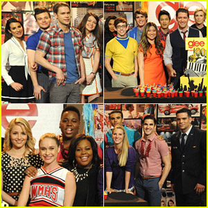 'Glee' Cast Celebrates 100 Episodes - See The Party Pics!