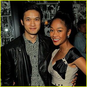 Harry Shum Jr.: L.A. Dance Project Event with Girlfriend Shelby Rabara!