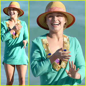 Hayden Panettiere Soaks Up the Sun with Family in Miami Beach